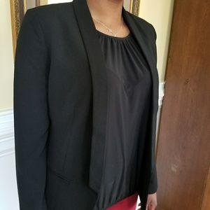 Loose fit black blazer